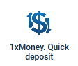 1x money